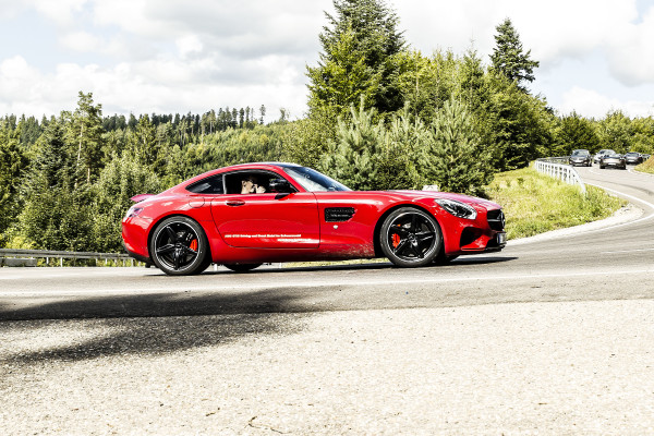 Mercedes AMG GTS rot