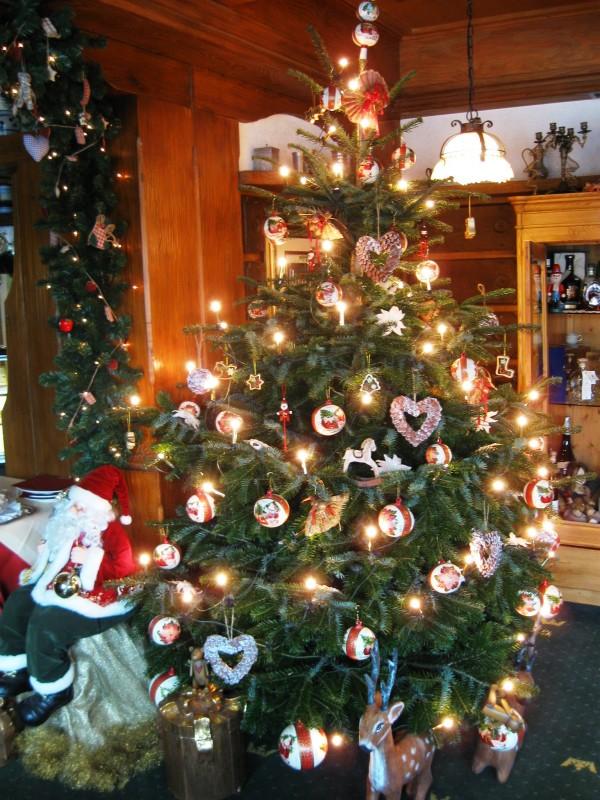 Weihnachtsbaum krone