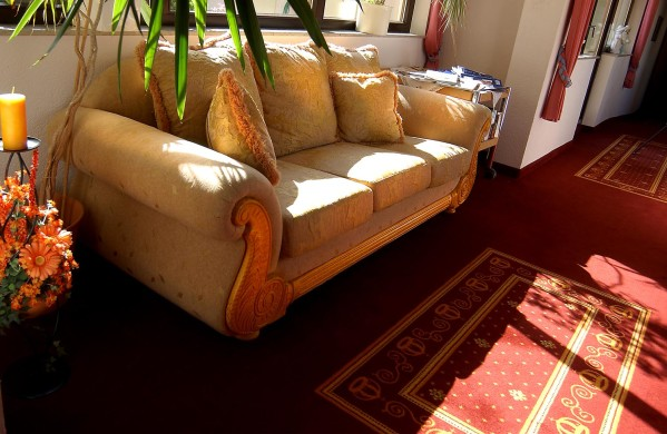 gelbe Couch